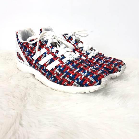564d22da057af adidas Shoes - ❄️Adidas Torsion Zx Flux Colorful 8-bit Sneakers